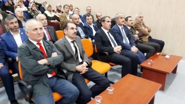 "Bafra'da ""Kudüs Ve Mescid-İ Aksa"" Konferansı"