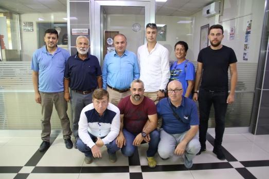 Bafra Gazeteciler Cemiyeti'nden Başkan Kılıç'a Ziyaret