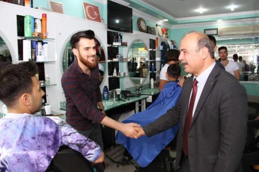 MHP Adayı Abdurrahman Çamaş'a Sevgi Seli