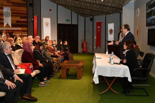 Başkan Şahin Doğancalı Kadınlarla Buluştu
