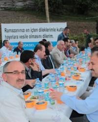 Büyükşehir Belediyesi'nden Alaçam'da İftar Programı