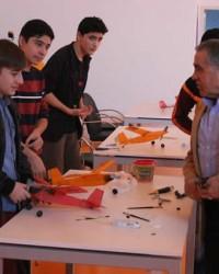 Bafra'da Model Uçak Yarışması Düzenlendi