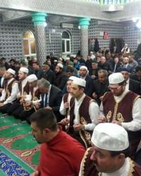 Bafra'da Regaip Kandili Coşkuyla Karşılandı
