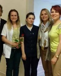 Hancıoğlu'ndan Medibafra'da Hasta Ziyareti