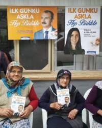 Orhan Kırcalı'nın Alaçam ve Bafra Ziyaretleri