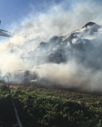 Karaköy'de Çıkan Büyük Yangın Paniğe Neden Oldu