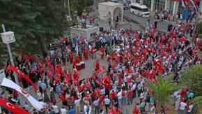 Bafrada Görkemli 15 Temmuz Kutlaması
