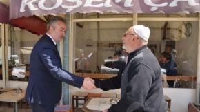 Başkan Topaloğlu'ndan Esnaf ve Çay Ocaklarına Ziyaret