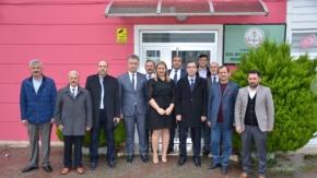 Başkan Topaloğlundan Özel Eğitim ve Rehabilitasyon Merkezine Ziyaret