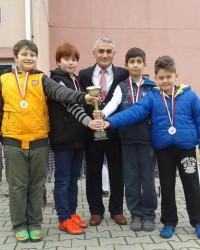 Kızılırmak İlkokulu Satranç Turnuvasında 4. Oldu