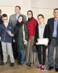 Özel Bafra Ortaokulu Bilgi Yarışmasında Birinci