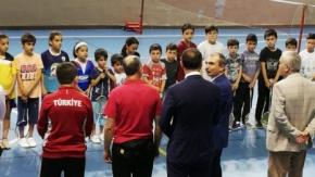 Milletvekili Kırcalı'dan Altınyaprak İlkokulu'na Ziyaret