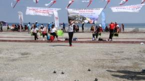Türkiye Petank Ligi 5. Etap Müsabakaları Yakakent'te Başladı