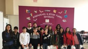 Özel Bafra AK Okulları'ndan Karadeniz 4.Kitap Fuarına Ziyaret