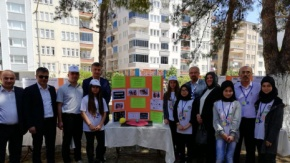 Bafra'da 4006 TÜBİTAK Bilim Fuarı Açılışı Yapıldı