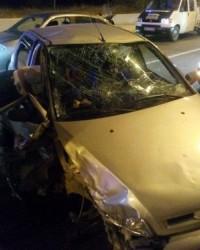 Alaçam'da Trafik Kazası : 2 Yaralı