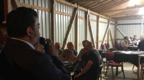 Mustafa Öcal, Mahalle Ziyaretlerine Devam Ediyor