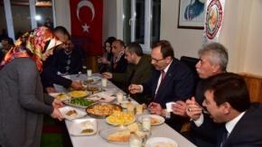Başkan Zihni Şahin'e Sevgi Seli