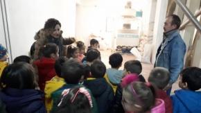 Kızılırmak Anaokulunun Minik Öğrencileri Fabrika Gezisinde
