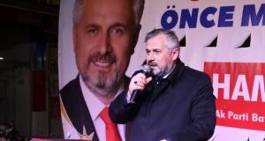 Başkan Hamit Kılıç'a Bafra'da Muhteşem Karşılama