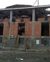 Bafra Çinili Cami İnşaatı Hızla Yükseliyor