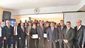 Bafra#039;da Girişimci Adaylarına Sertifikaları Verildi