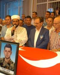 Şehit Polis Uçar; Bafra'da Toprağa Verildi