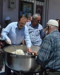 Bafra Belediyesi'nden Hergün 5000 Kişilik İftar
