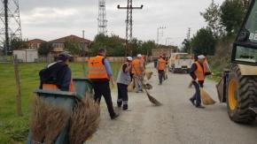 Bafra Belediyesi'nden Dededağı'nda Mıntıka Temizliği