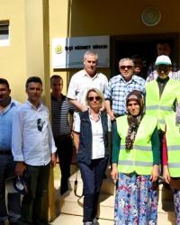 Kaymakam Arslan'dan Kuykayası fidanlığı'na Ziyaret