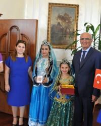 Festival Ekiplerinden Başkan Yılmaz'a Ziyaret