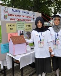 Ondokuzmayıs'ta Öğrenciler Projelerini Sergiledi