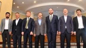 Zihni Şahin Gençlik Kolları Genel Başkanı Büyükgümüş'ü Ağırladı
