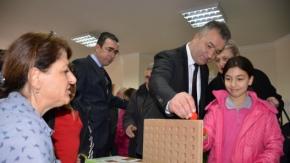 19 Mayıs İlçesinde Ahşap Akıl Oyunları Sergisi Açıldı