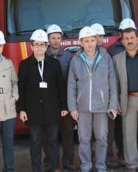 Bafra'da Doğalgaz Yangını Tatbikatı Yapıldı