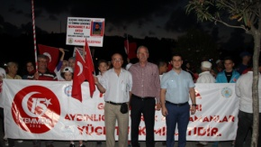 Alaçam'da 15 Temmuz Demokrasi Ve Milli Birlik Günü Etkinliği