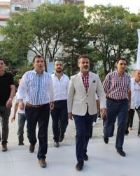 Milletvekili Suat Kılıç Bafra'da İncelemelerde Bulundu