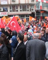 AK Parti Bafra SKM'ne Görkemli Açılış