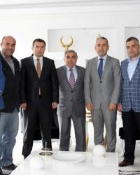 AK Parti'den Kaymakam ve Müftü'ye Ziyaret