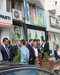 AK Parti Bafra İlçe Teşkilatı'nda Bayramlaşma