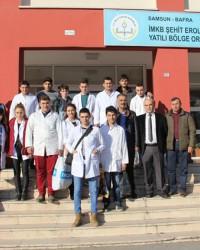 "Şehit İMKB Erol Haspulat YİBO'ya 'Kardeş Eli"" Değdi"