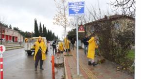 Cadde, Sokak Ve Kaldırımlarda Mıntıka Temizliği