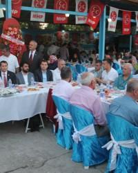 Bafra; MHP İlçe Teşkilatı İftar'ında Buluştu