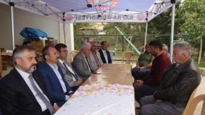 Selahattin Turan'ın Ailesine Taziye Ziyareti