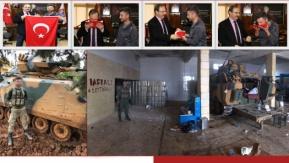 Afrin Kahramanımız Başkan Şahin'i Ziyaret Etti