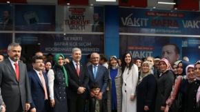 AK Parti Bafra SKM Düzenlenen Törenle Açıldı