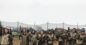 Galip Öztürk Ortaokulu'ndan Paintball Etkinliği