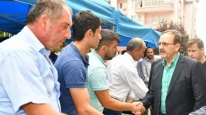 Başkan Şahin'den Kederli Aileye Ziyaret