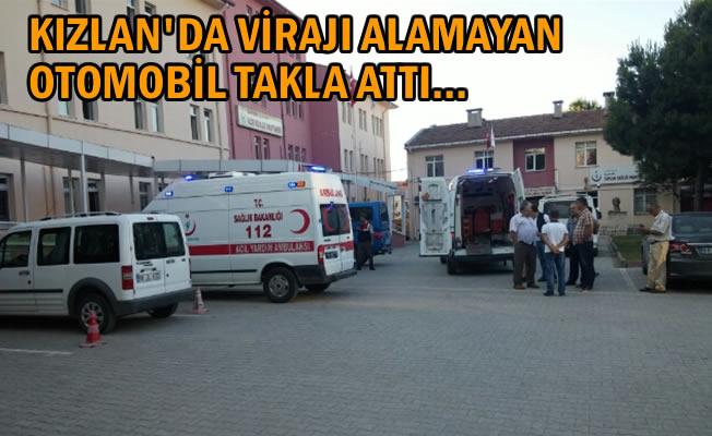 Alaçam'da Trafik Kazası; 4 Kişi Yaralı