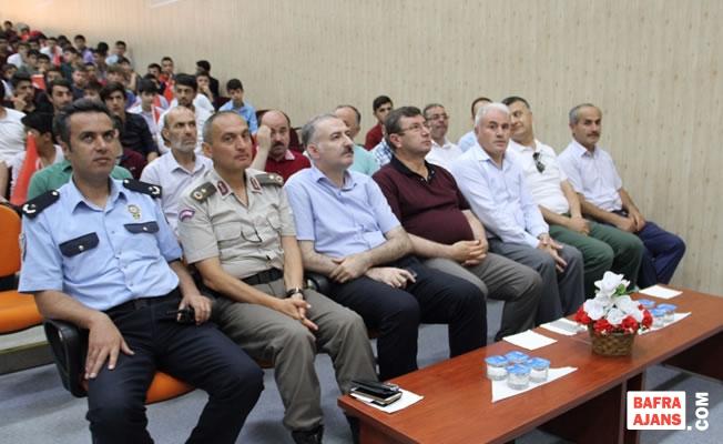 Bafra'da 15 Temmuz Demokrasi ve Milli Birlik Günü Etkinliği